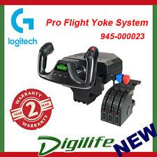 Logitech G Pro Flight Yoke System for PC Gaming Controller with Throttle Saitek