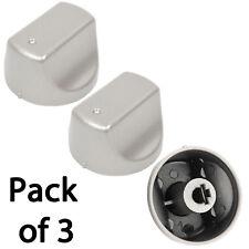 HOTPOINT-ARISTON Hot-Ari ix PH Genuine Oven Hob Control Switch Knob Silver x 3