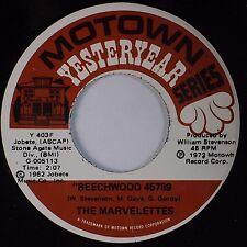 THE MARVELETTES: Beechwood 45789 / Playboy CLASSIC Motown Soul 45 NM- Stock