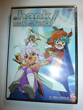 .hack// Legend of the Twilight Volume 1 A New World DVD anime sci-fi series NEW!