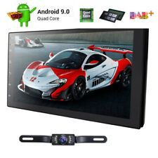 7 Inch Android 9.0 4G WiFi Double 2DIN Car Radio Stereo Player GPS OBD2 Camera
