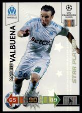 Panini Liga de Campeones 2010-2011 ADRENALYN XL Valbuena Marsella Jugador Estrella