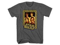 Star Wars Family Photo Charcoal Grey T-Shirt