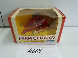 ERTL Farm Classics CASE Corn Picker 1991 vintage die-cast metal farm model