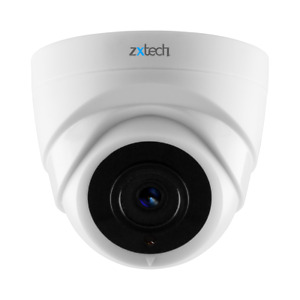 Zxtech 3MP Night Vision Wide Angle Dome Remote Access Motion IP H265 Camera