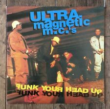 Ultramagnetic MC's ‎– Funk Your Head Up LP. Original 1992  FFRR ‎– 510987-1