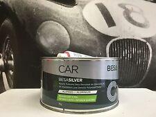 Peinture Carrosserie: 1L Mastic polyester charge d'Aluminium + durcisseur