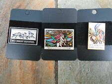 2011, 2013 and 2015 Kentucky Derby Festival Poster Pins(all 3)