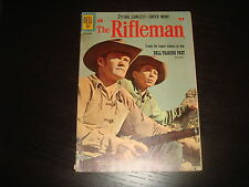 THE RIFLEMAN #9  Western, Cowboy Silver Age Dell Comics VG+ 1961