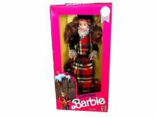 Mattel Barbie - 1990 - Scottish - Barbie - Doll - Special Edition - Number 9845