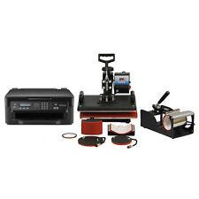 Set prensas de calor Térmicas Sublimación 38x38cm Pixmax & impresora