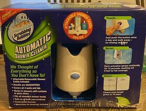 Scrubbing Bubbles Automatic Shower Cleaner Sprayer Kit with 2 Refills - NEW