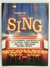 SING Movie DVD FYC BEST MOTION PICTURE-ANIMATED Advance Screener