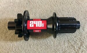 DT Swiss 240s REAR HUB 148 x 12mm ISO 6 bolt Shimano - used 35miles