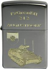 Original Zippo Sturmfeuerzeug Panzergrenadierbataillon (PzGrenBtl) 212 Augustdor
