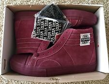 Vans X Supreme Native American Red Burgundy size 11.5 Golf Wang Syndicate wtaps