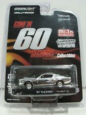 Greenlight 1967 Shelby Eleanor Gone In 60 Seconds MiJo Exclusive Chrome Edition