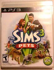 The Sims 3 Pets (Sony Playstation 3 PS3, 2011) GUARANTEED - Free Shipping