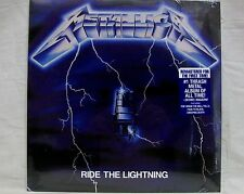 "NEW & Sealed! Metallica ""Ride The Lightning"" LP Vinyl Record (BLCKND004R-1) Free"