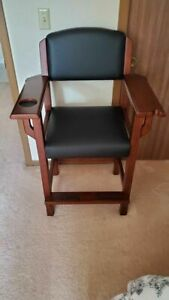 Brunswick Traditional Players Chairs 2 Pool Table Chairs