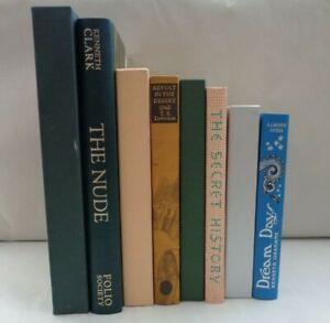1986-2010 Folio Society x4 volumes plates Dream Days