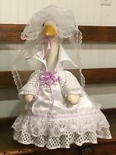 Goose Clothes:  Bridal Wedding Gown Goose Outfit by Silly Goose