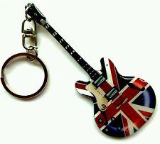 """Epiphone Union Jack""- Portachiavi acciaio - Steel keychain - Acero Llavero"