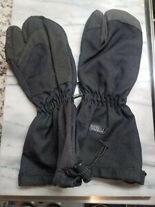 Unisex Seirus made with Kevlar Overmittens Black NWT Size XS , M , L , XL