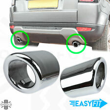 Exhaust tips tailpipe Polished Stainless for Range Rover Evoque Pure/Prestige