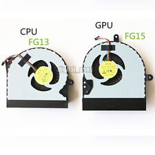 a pair CPU+GPU Cooler Cooling Fan for ASUS G751 G751J G751M G751JT G751JY G751JM