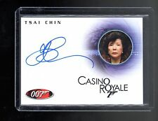 James Bond in Motion Tsai Chin autographed card