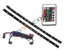 "12"" Flexible LED Strip Light Kit Full Color RGB With RF Wireless Remote Control"