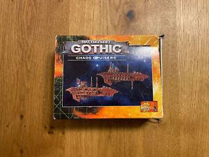 Games Workshop - Raumflotte / Battlefleet Gothic - 2x Chaos Cruisers - OOP