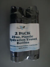 Hot Or Cold Bottles Travel Mates Two 27oz. Plastic Hydration Bottles Bpa Free
