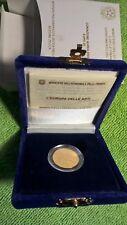 MONETA ORO - CONIAZIONE AUREA 2003 - EURO 20 - Europa Delle Arti