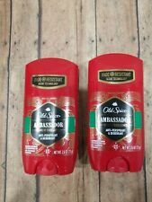 Old Spice Ambassador Anti-Perspirant and Deodorant 2.6 Oz- Pack of 2