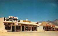Postcard Hardware and Drug Store in Kernville, California~119123