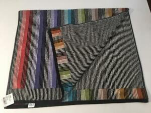 "NWT Authentic MISSONI Home Ross Striped Design Bath Terrycloth Towel 27""x46"""
