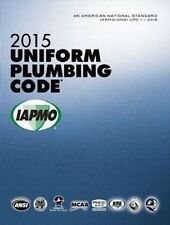 2015 Uniform Plumbing Code Book in Soft Cover - New