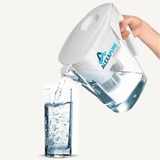 Alexapure Pitcher Water Filter Filtration System, BPA Free 8 Cup Reservoir Jug