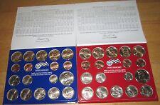 2009 U.S. Mint Set  P & D 36 coins Sacagawea dollar Kennedy State Quarters COA