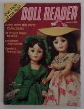 Doll Reader Magazine January 1990 Christmas and Gone With The Wind Collectibles