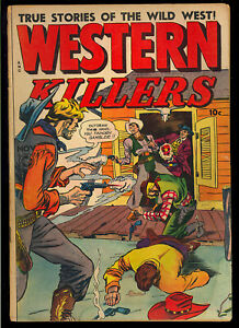 Western Killers #61 Pre-Code Golden Age Fox Comic 1948 GD+
