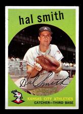 1959 Topps Baseball  HAL SMITH   A's   # 277  Near Mint