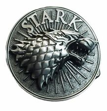 Game of Thrones Stark Wolf Pewter Finish Belt Buckle