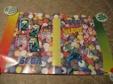 Sega Genesis Club Video Game Book Cover Poster 1994 Promotional Promo Ecco
