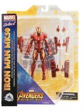 Marvel Select Iron Man MK50 Exclusive Diamond Avengers Infinity War In Stock
