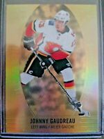 2018-19 UD Tim Hortons Gold Etchings #GE-5 Johnny Gaudreau Calgary Flames