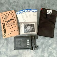 Polaroid 545i 4X5 Instant Sheet Film Holder with Custom Pouch and more - BUNDLE