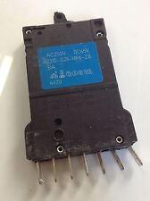 ETA 250VAC 65VDC 6A CIRCUIT BREAKER LOT OF 5 2210-S211-N1M1-Z111 *kjs*